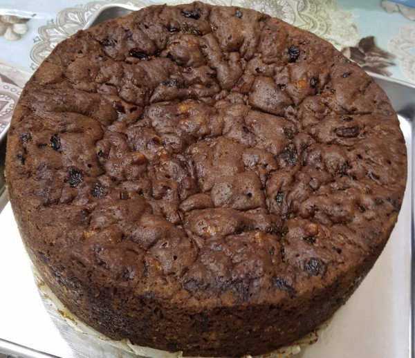 Steam Fruit Cake - Aleysha Bakers