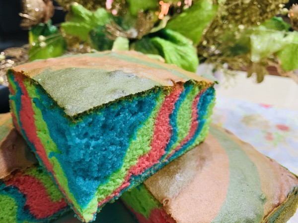 Colourful Cake  - Aleysha Bakers