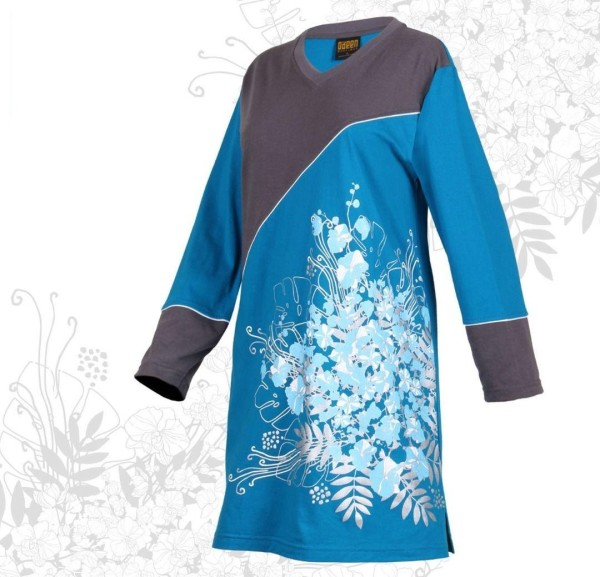 AS480 TURKISH BLUE - Muslimah.com.my - Muslimah Online Shopping