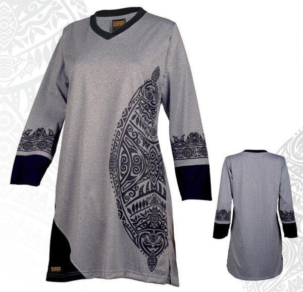 HH626 GREY - Muslimah.com.my - Muslimah Online Shopping
