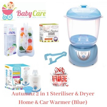 Autumnz 2 in 1 Electric Steriliser & Dryer + Home and Car Warmer