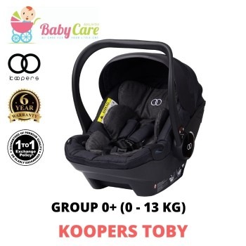 Koopers Toby Carrier Car Seat 0 - 13 kg / 0 - 9 months (1 to 1 Exchange)