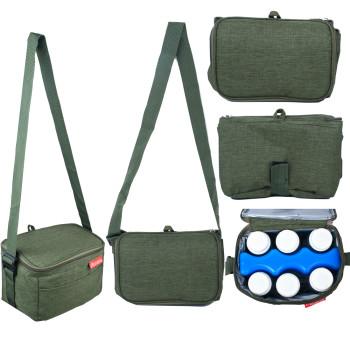 Autumnz Fun Foldaway Cooler Bag (Pine Green)