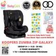 READY STOCK Koopers Zumba ZIP GALAXY Convertible Car Seat 6 Year  - Baby Care Malaysia