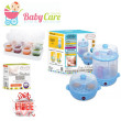 AUTUMNZ 2-in-1 Electric Steriliser & Food Steamer (Blue) - Baby Care Malaysia
