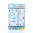 Autumnz Silicone Fresh Food Feeder (Turquoise) *comes with 3 Silicone Sacs S, M & L* - Baby Care Malaysia