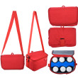 Autumnz Fun Foldaway Cooler Bag (Candy Red) - Baby Care Malaysia