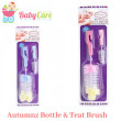 Autumnz Bottle & Teat Brush (Assorted Colors) - Baby Care Malaysia