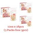 3 Packs Autumnz Double ZipLock Breastmilk Storage Bag 12oz - Baby Care Malaysia