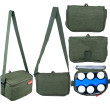 Autumnz Fun Foldaway Cooler Bag (Pine Green) - Baby Care Malaysia