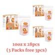 3 Packs Autumnz Double ZipLock Breastmilk Storage Bag 10oz - Baby Care Malaysia