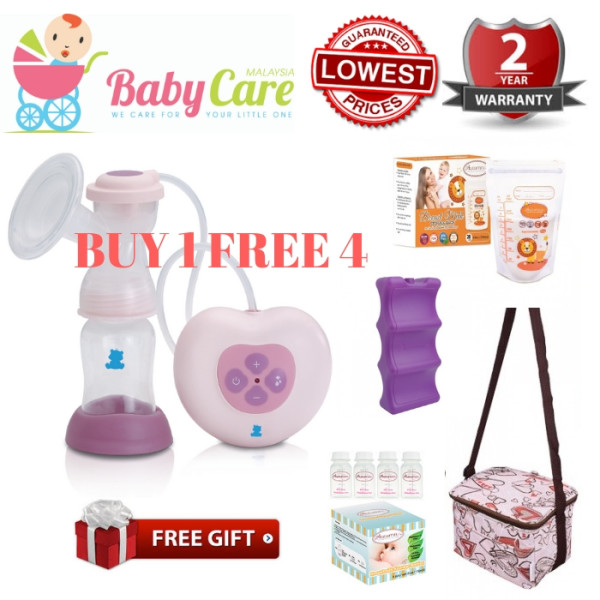 SNOW BEAR Electric Breastpump / Breast Pump with Autumnz Set - Baby Care Malaysia