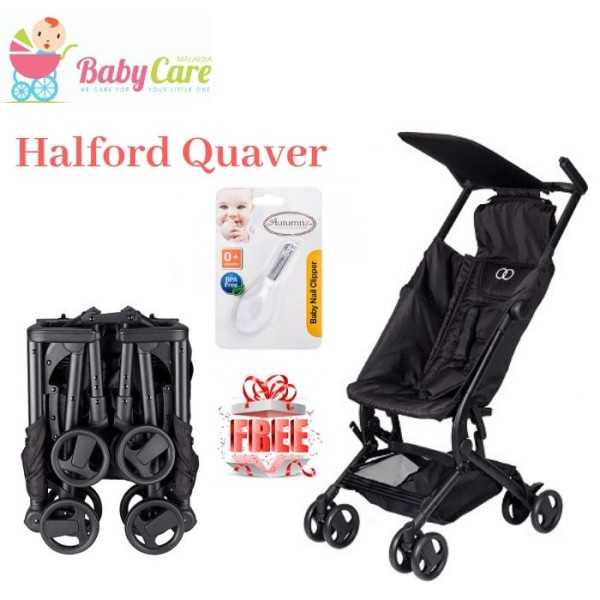 Halford Quaver Compact Stroller - Baby Care Malaysia