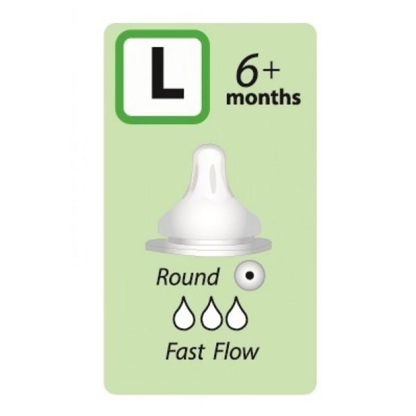Autumnz Soft Silicone Teat *2pcs* (Round Hole) Bottle Teat - Baby Care Malaysia