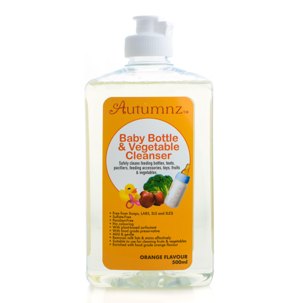 Autumnz Baby Bottle & Vegetables Cleanser (500ml) *Orange Flavour* (Best Buy) - Baby Care Malaysia