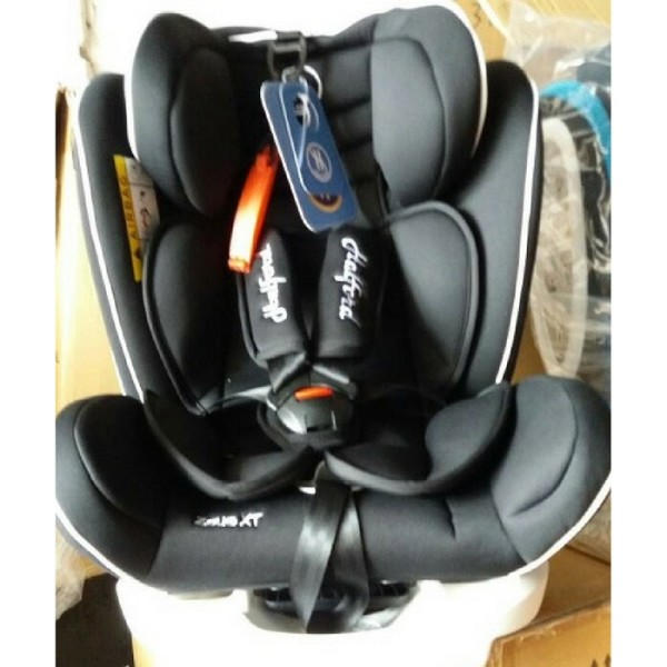 Halford Zeus XT Car Seat Black (Group 0+/1/2/3) (1 To 1 Crashed E - Baby Care Malaysia
