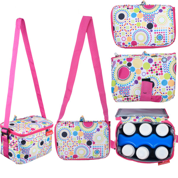 Autumnz Fun Foldaway Cooler Bag (City Chic) - Baby Care Malaysia