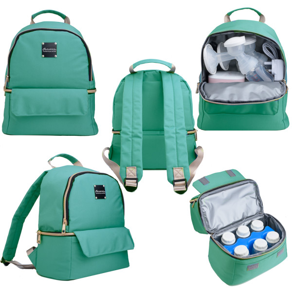 Autumnz Delina Cooler Bag (Tiffany Blue) - Baby Care Malaysia