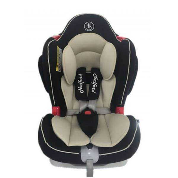 HALFORD Voyage XT Convertible Car Seat (Black Beige) - Baby Care Malaysia