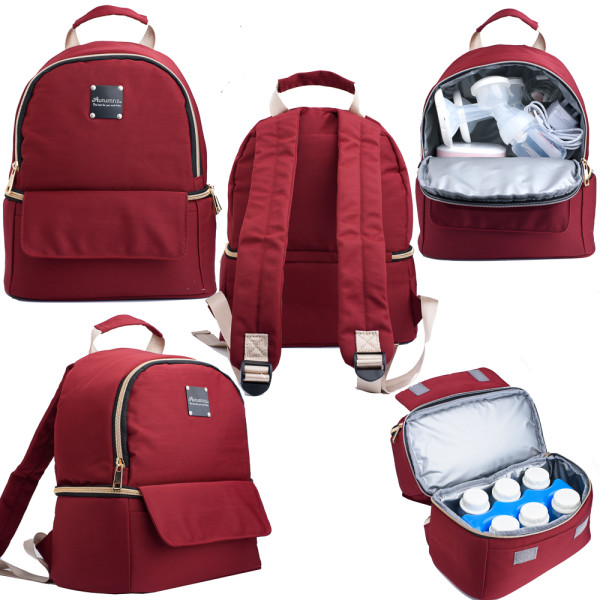 Autumnz Delina Cooler Bag (Maroon) - Baby Care Malaysia