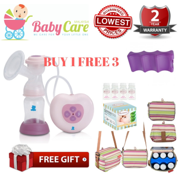 SNOW BEAR Electric Breast Pump (Micro Computer) Package A - Baby Care Malaysia