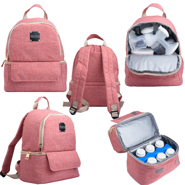 Autumnz Delina Cooler Bag Blush - Baby Care Malaysia