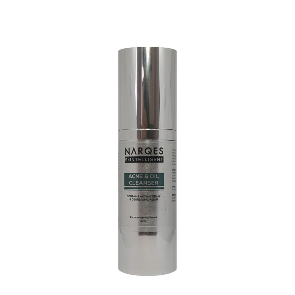 Acne & Oil Cleanser (Contains Antibacterial & Degreasing Agent)  - Shop Narqes