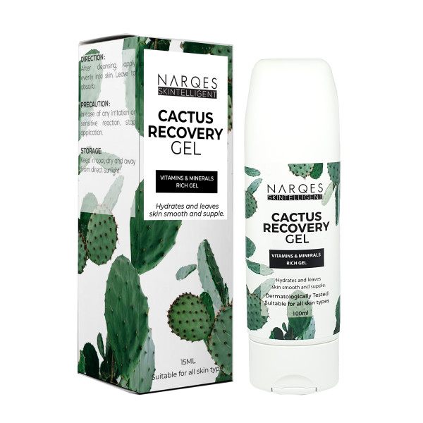 Cactus Recovery Gel (Vitamins & Minerals Rich Gel) 100ml - Shop Narqes
