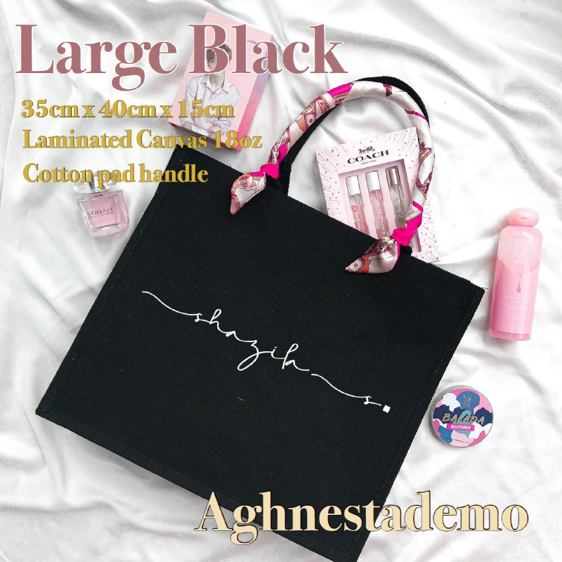 Personalised Large Black