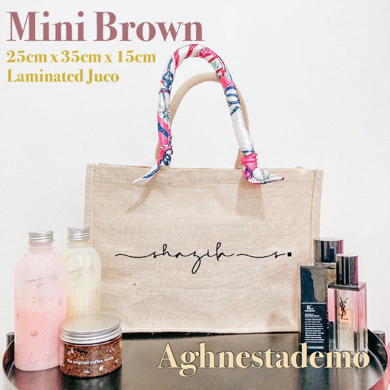 Personalised Mini Brown