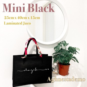 Personalised mini black