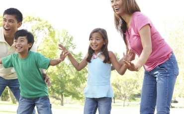 20 fun ideas to get kids active with you, including some games from your childhood!
