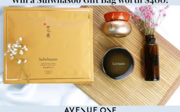 We're giving away a Luxurious Sulwhasoo Gift Bag worth $400!