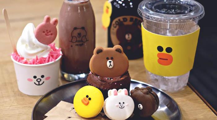 best-seoul-cafes-line-friends-café-store-food