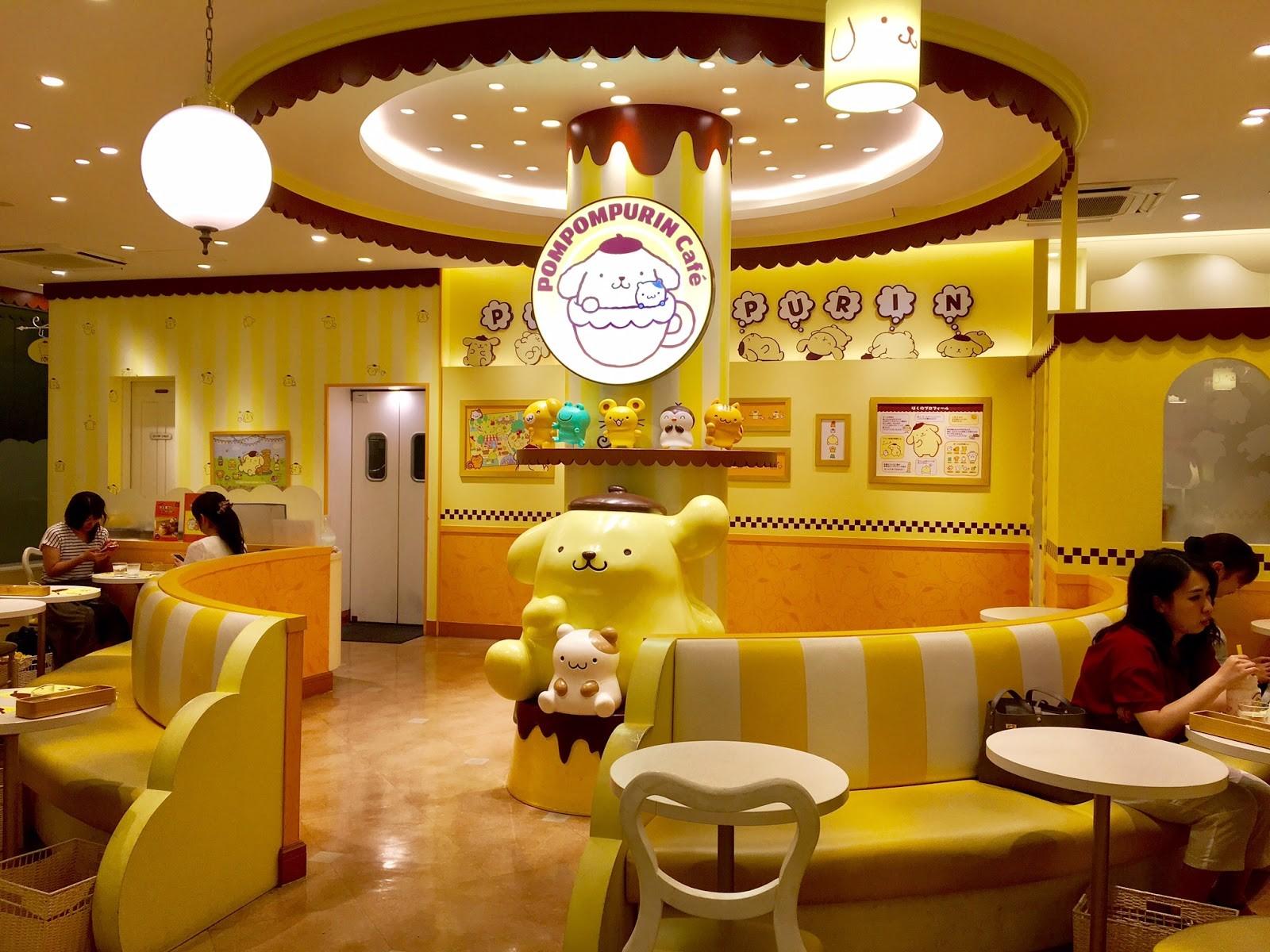 themed-cafes-tokyo-pompompurin-café