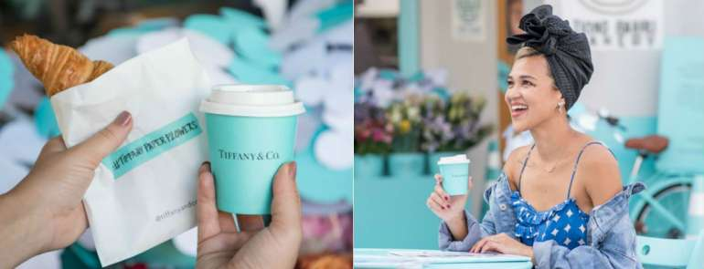 Here's how you can get hold of complimentary Tiong Bahru Bakery's signature croissant, and coffee in a Tiffany Blue cup