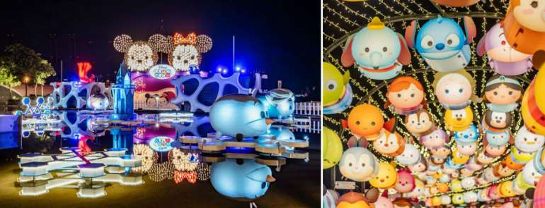 Light up your Instagram feed with more than 2,000 Tsum Tsum lanterns at VivoCity