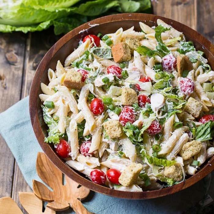 easy-pasta-salad-recipes-chicken-caesar-pasta-salad