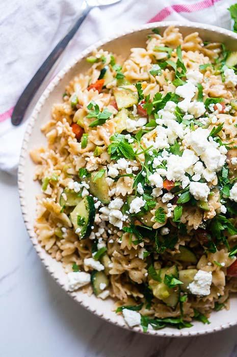 easy-pasta-salad-recipes-lemon-balsamic-summer-pasta-salad
