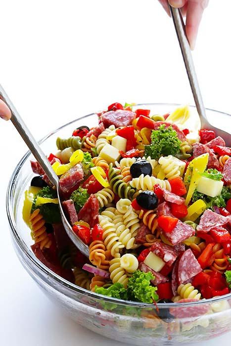 easy-pasta-salad-recipes-rainbow-antipasto-pasta-salad