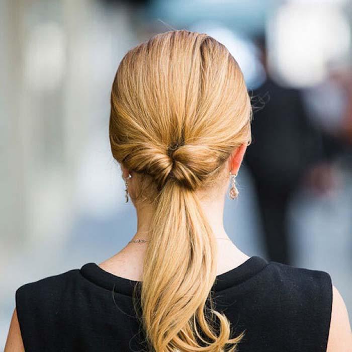 gym-hairstyles-low-twist-ponytail