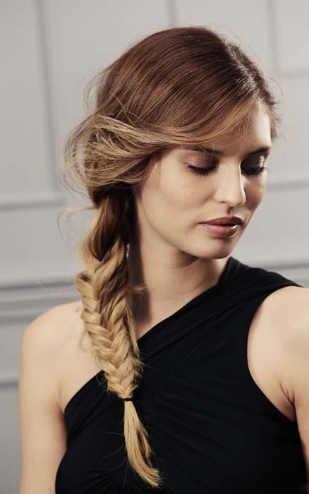 gym-hairstyles-side-fishtail-braid