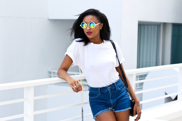 how-to-style-denim-shorts-shades