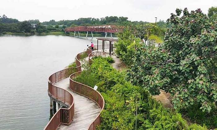 scenic-places-to-jog-punggol-waterway-park