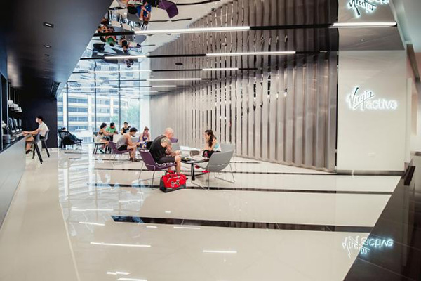 Best-offices-in-Singapore-with-workout-facilities-danone-gym