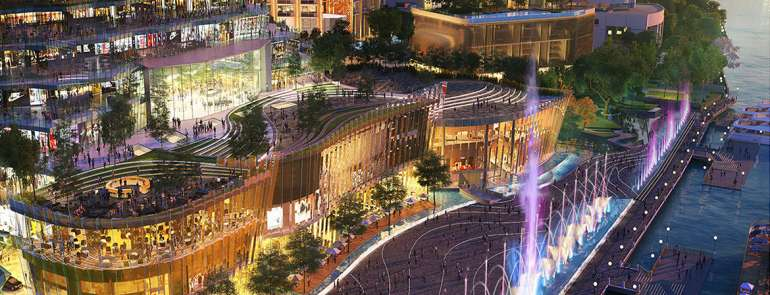 The largest riverside mall in Thailand is opening in Bangkok and it'll even have an indoor floating market!