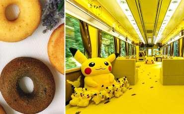 Take photos with Pikachu and enjoy seasonal Japanese desserts this weekend!