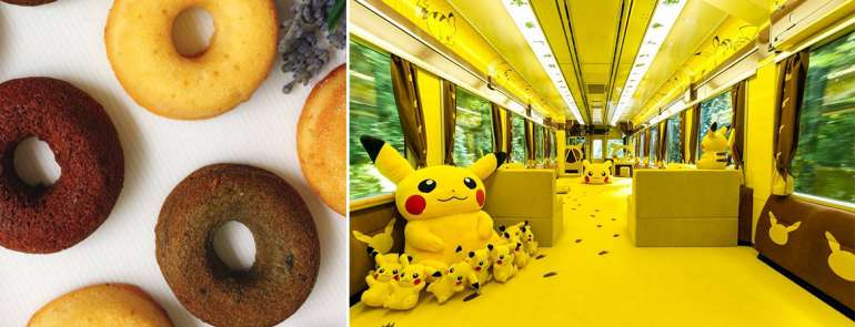 Take photos with Pikachu and enjoy seasonal Japanese desserts this weekend!