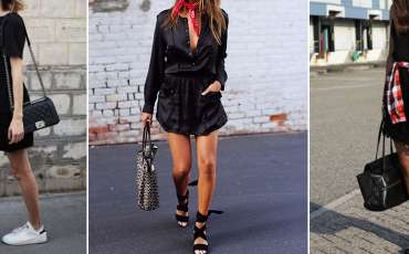 8 simple ways to spruce up black dresses so you can wear them again and again