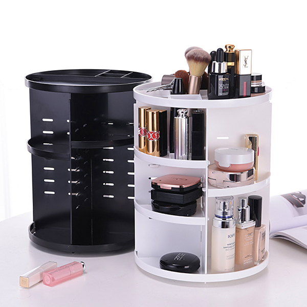 Best-organisational-items-rotating-makeup-organiser